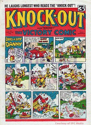 KNOCKOUT - UK COMIC COLLECTION 1940s-1950s - 151 COMICS WITH VIEWING SOFTWARE