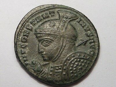 1031 Ancient Roman copper coin Constantine I THE GREAT AE 19 - 4th century AD.