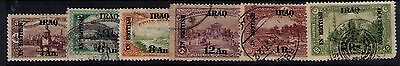 Iraq Ovpt on Ottoman Stamps SC# NO28;NO35-39 Used/MH