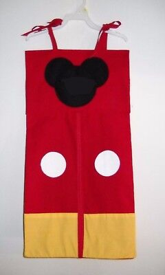 Disney-Mickey-Mouse-Personalized-Baby-Nursery-Crib-Bedding-Diaper-Stacker!!