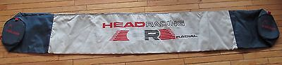 HEAD RACING ski bag - blue + gray - 2.1m long (about 82 inches)