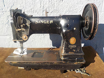 Industrial Sewing Machine Model Singer 144-103  walking foot- Leather