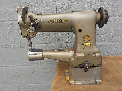 Industrial Sewing Machine Model Singer 153W102 needle feed ,cylinder- Leather