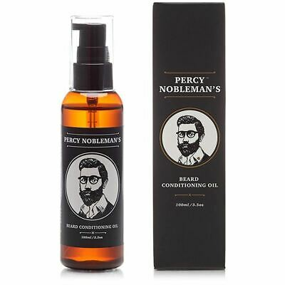 Percy Nobleman Conditioning Beard Oil Unscented 100ml *QUICK POST*OZ SELLER*