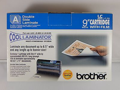 "Brother LC-D9 LCD9 9"" Double Sided Laminate Cartridge for LX-900 LX-910D NEW"