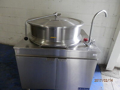 Cleveland 40 Gal Jacketed Steam Kettle 4 Steam Source