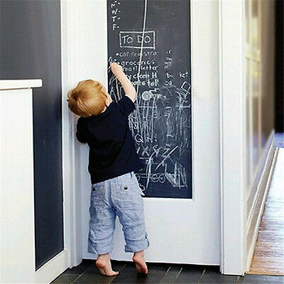 1Pcs Blackboard Roll Teaching Stickers Adhesive Writing Chalk Student Wall Paper