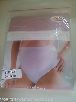 Anita Maternity Seamless Maternity Brief Size S White