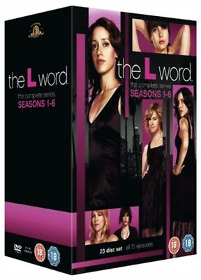 The L Word Season 1-6 Complete Series Collection DVD Boxset Boxed Set New