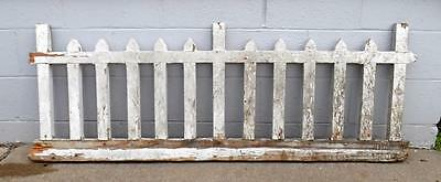 Vtg Shabby Chic Wood Porch Railing Balusters Architectural Salvage PICKUP ONLY!