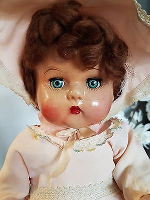 "Canadian First Ed Baby Doll Earle Pullan Co. 19"" 1947 Toronto Composition VHTF!"