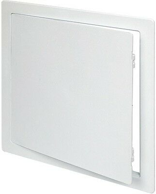 Plastic 12 in. x 12 in. Paintable Easy Install Wall Ceiling Access Panel White