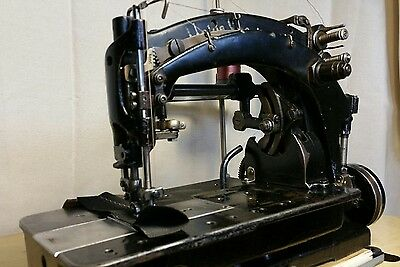 ** Vintage Union Special 9900 AH double needle zig zag leather sewing machine**