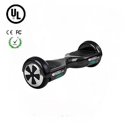 Easy People 2 Wheel Bluetooth + Speakers Motorized Scooter hoover Board Black UL