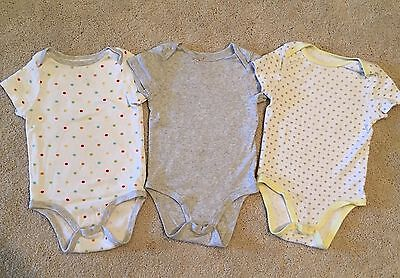 Circo ~ Lot of 3 Baby Boys Bodysuit ~ Size 18 M ~ Pre-owned