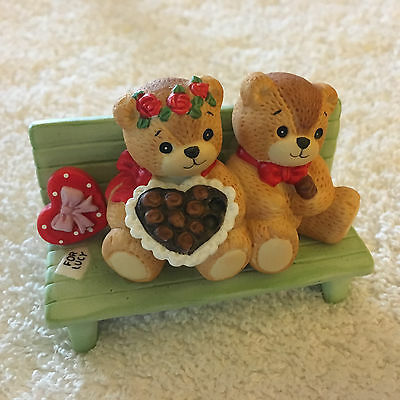 Lucy & Me Candy For Lucy Bear For Your Sweet Heart Figurine Lucy Rigg
