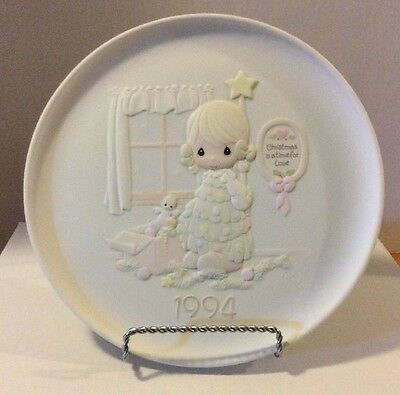 "Precious Moments Christmas Plate - "" You're As Pretty As A Christmas Tree """