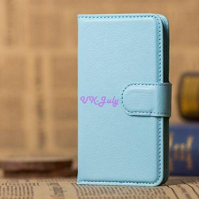 Luxury Flip Cover Stand Wallet PU Leather Case For LG Series Phone