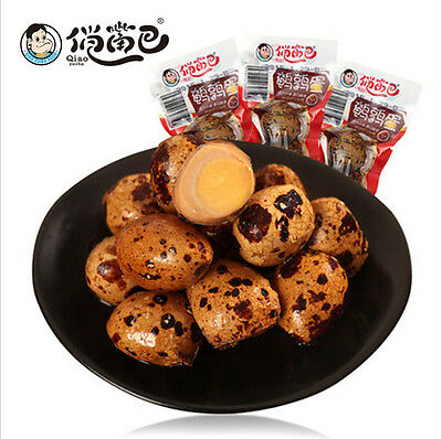 Delicious Chinese Food Snacks Spiced Quail Eggs Vacuum-packed Spiced Corned Egg