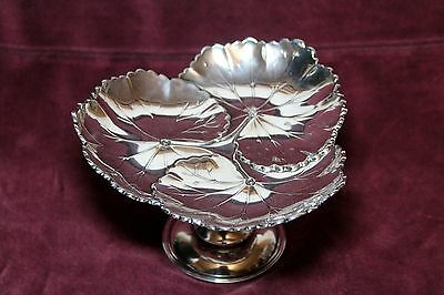 Reed & Barton Leaf Compote  # X137 Sterling Silver .925