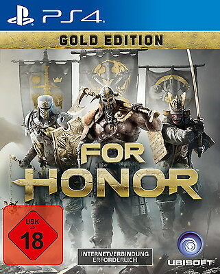 For Honor - Gold Edition (Sony PlayStation 4, 2017)