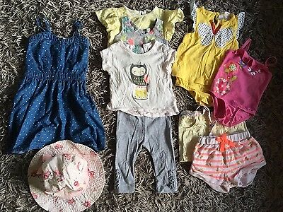 Bulk lot baby girls clothes includes country road, bonds and more