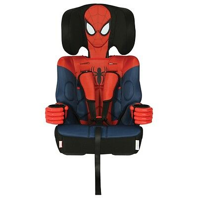 KidsEmbrace 1-2-3 Booster Car Seat - Spiderman, Infant Baby Travel Safety Seat