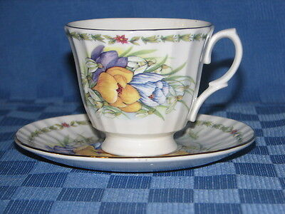 Duchess Bone China, Tea Cup and Saucer Duo. Made in England.