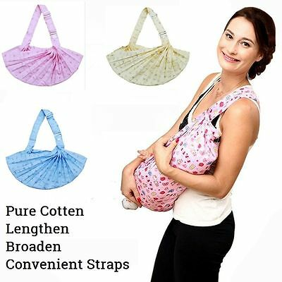 Baby Sling Newborn Wrap Stretchy Birth Breastfeeding Toddler Adjustable Carrier