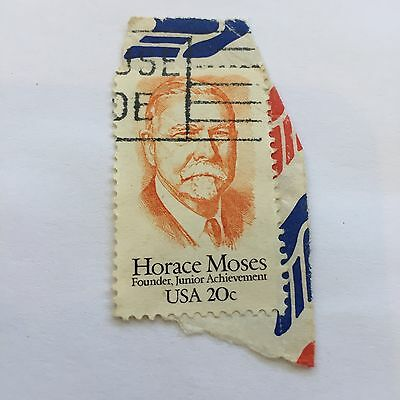 Horace Moses, Founder Junior Achievement USA Postage Stamp
