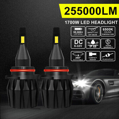 CREE H7 200W 30000Lm LED Car Headlights Conversion Globes Bulbs Beam Kit 6500K