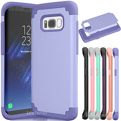 For Samsung Galaxy S8 / S8 Plus + Rugged Impact Shockproof Protective Case Cover