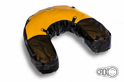 40 L Yellow Motorcycle Dry Bag Soft Luggage Enduro Off Road Adventure Bmw Ktm