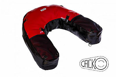 40 L Red Motorcycle Dry Bag Soft Luggage Enduro Off Road Adventure Bmw Ktm