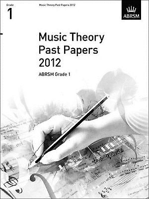 Music Theory Past Papers 2012 ABRSM Grade 1 Exam Prep Practice Book S117