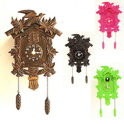 2017 Europea Cuckoo Clock House wall clock large modern art vintage home decor