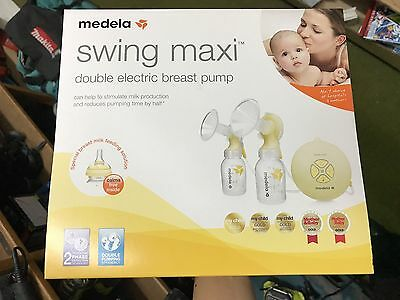 Medela Swing Maxi Double Electric Breast Pump - Brand New