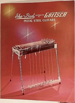 Vintage Catalog Sho-Bud Pedal Steel Guitars / SBG-75 Dist. by Gretsch