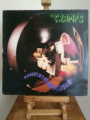 The Cramps - Psychedelic Jungle. Vinyl Lp. Uk Press. I.r.s Labels. Vg Condition.