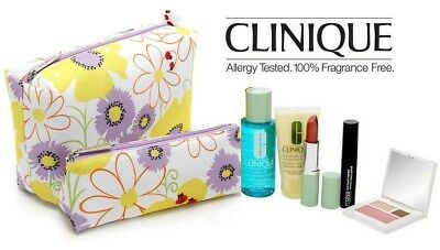 Clinique 7 Piece Floral Gift Set RRP £60 New