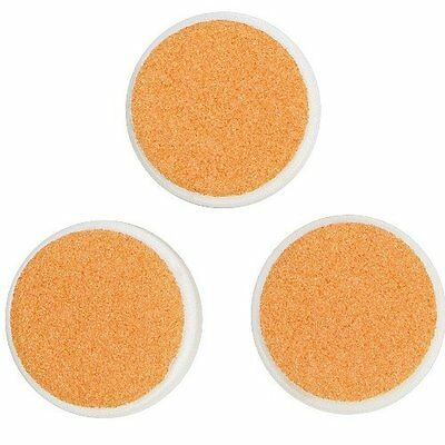 ZoLi Buzz B. Baby Nail Trimmer Replacement Pads Orange 12+ Months - 3 Per Set