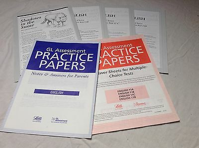 GL Assessment 11+ Practice papers