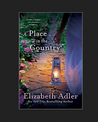 A Place in the Country by Elizabeth Adler Paperback Book (English)