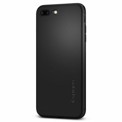 Spigen iPhone 7 Plus Case Thin Fit 360 Black