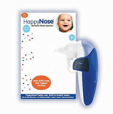 NEW HappyNose Musical Nasal Aspirator (Batteries included)