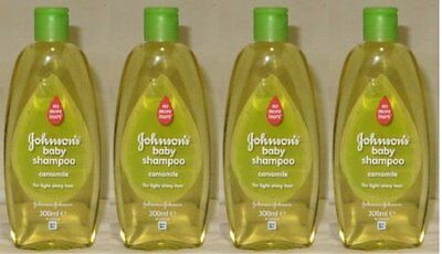 Johnson's Baby Shampoo No More Tears with Chamomile for Light Shiny Hair 10.1 /