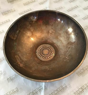 Retro sterling silver Bowl signed Georg Jensen Sigvard Bernadotte # 990A