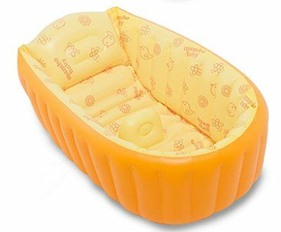 Hhobake Inflatable Baby Bathing Tubs and Seats,Portable Bathtub,Kid Toddler For