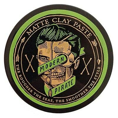 Modern Pirate Matte Clay Paste Mens Hair Product 95ml **QUICK POST FROM MELB**