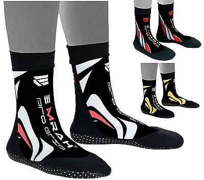 EMRAH MMA Grip Training Fight Socks Boxing Foot Braces Ankle Shoes Guard Pad-X